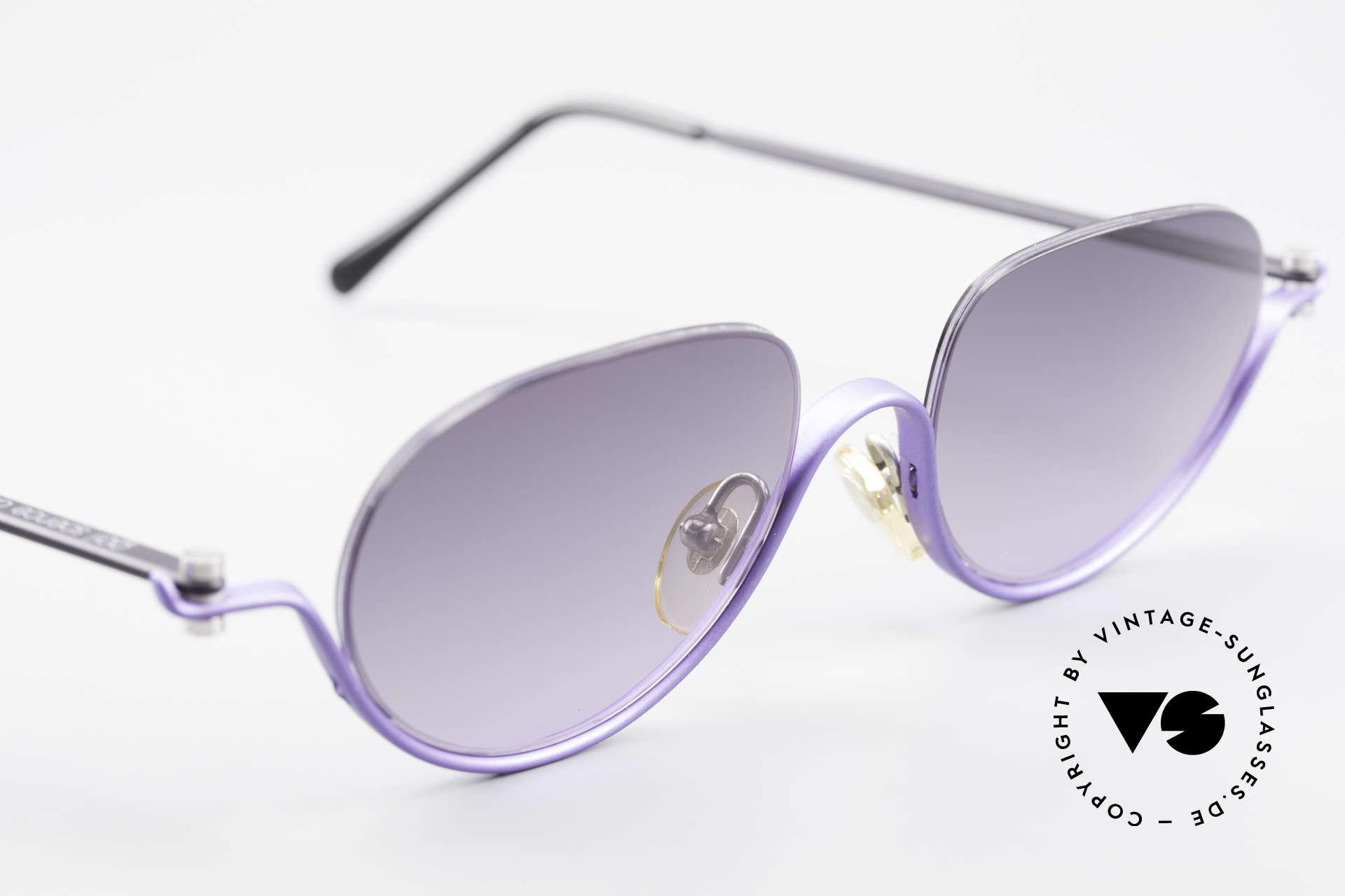 ProDesign No8 Gail Spence Design Sunglasses, ultra RARE designer sunglasses from the mid 1990's, Made for Women
