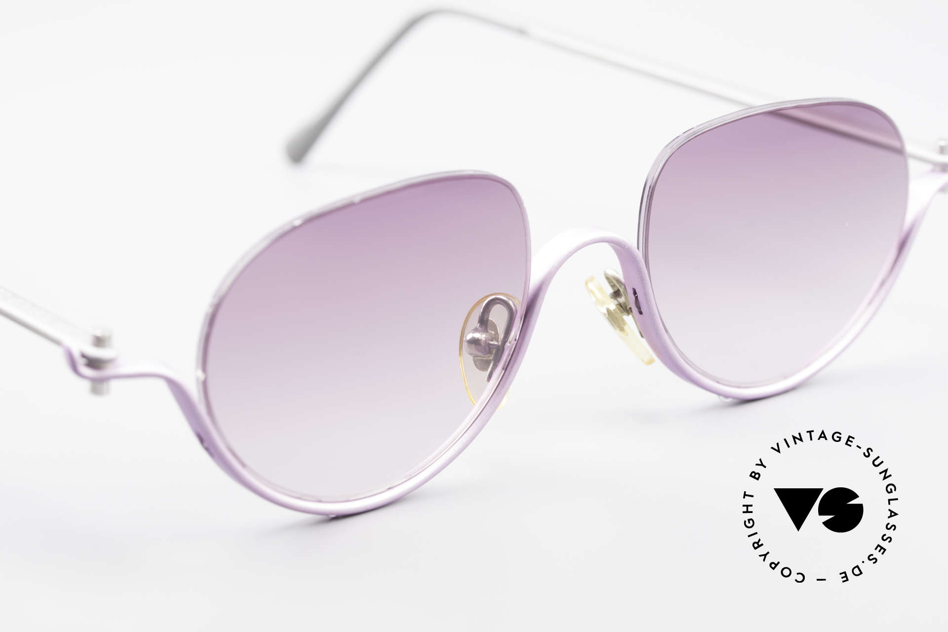 ProDesign No8 Gail Spence Design Shades, ultra RARE designer sunglasses from the mid 1990's, Made for Women