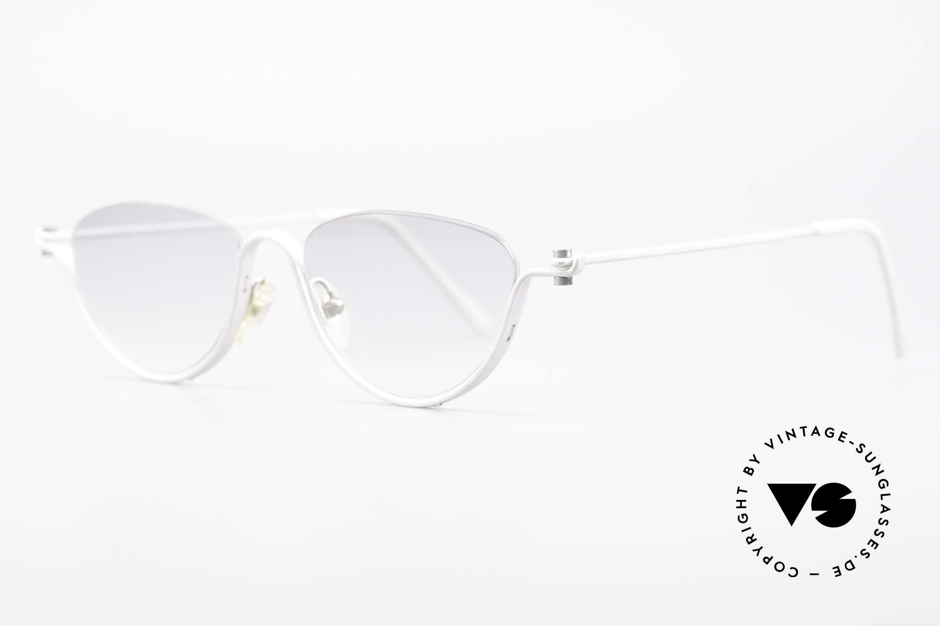ProDesign No10 Gail Spence Design Sunglasses, successor of the legendary Pro Design N° ONE model, Made for Women
