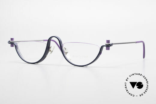 ProDesign No1 Half Gail Spence Design Glasses Details