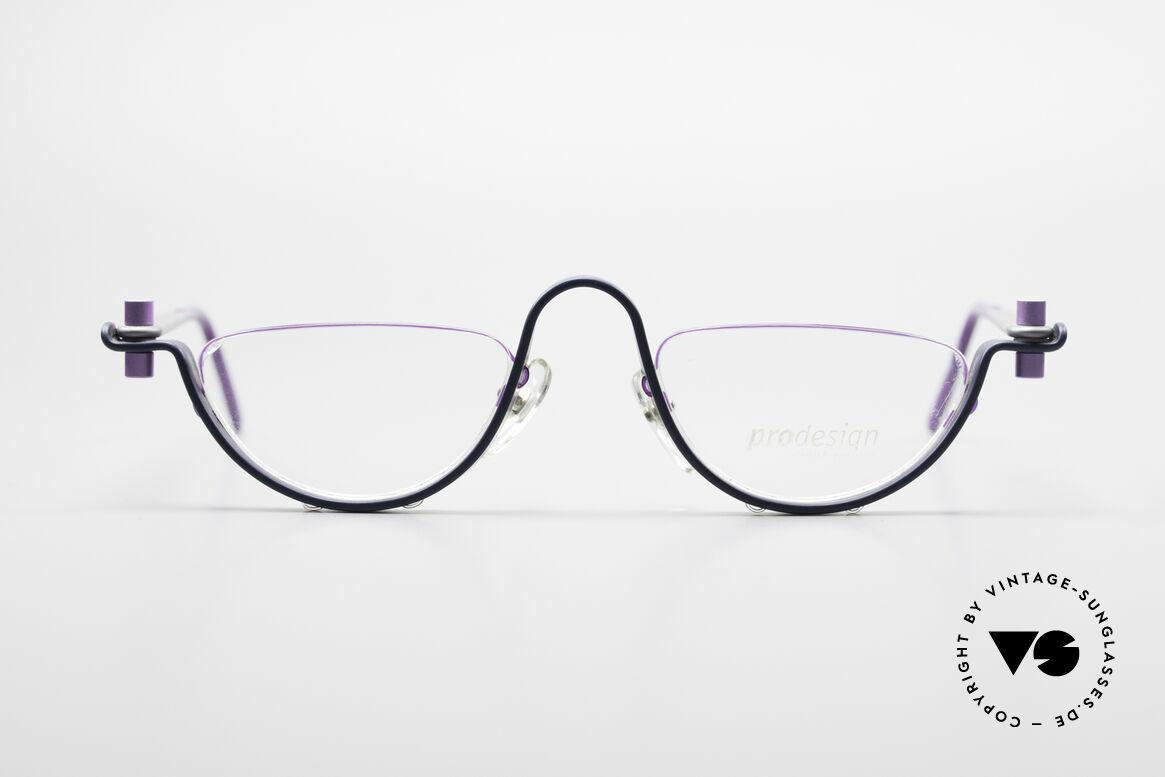 ProDesign No1 Half Gail Spence Design Glasses, ProDesign N°ONE Half - Optic Studio Denmark Frame, Made for Men and Women