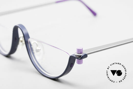 ProDesign No1 Half Gail Spence Design Glasses