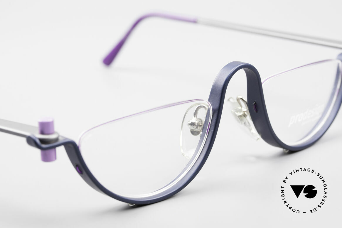 ProDesign No1 Half Gail Spence Design Glasses