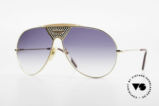 Alpina TR4 80's Miami Vice Sunglasses Details