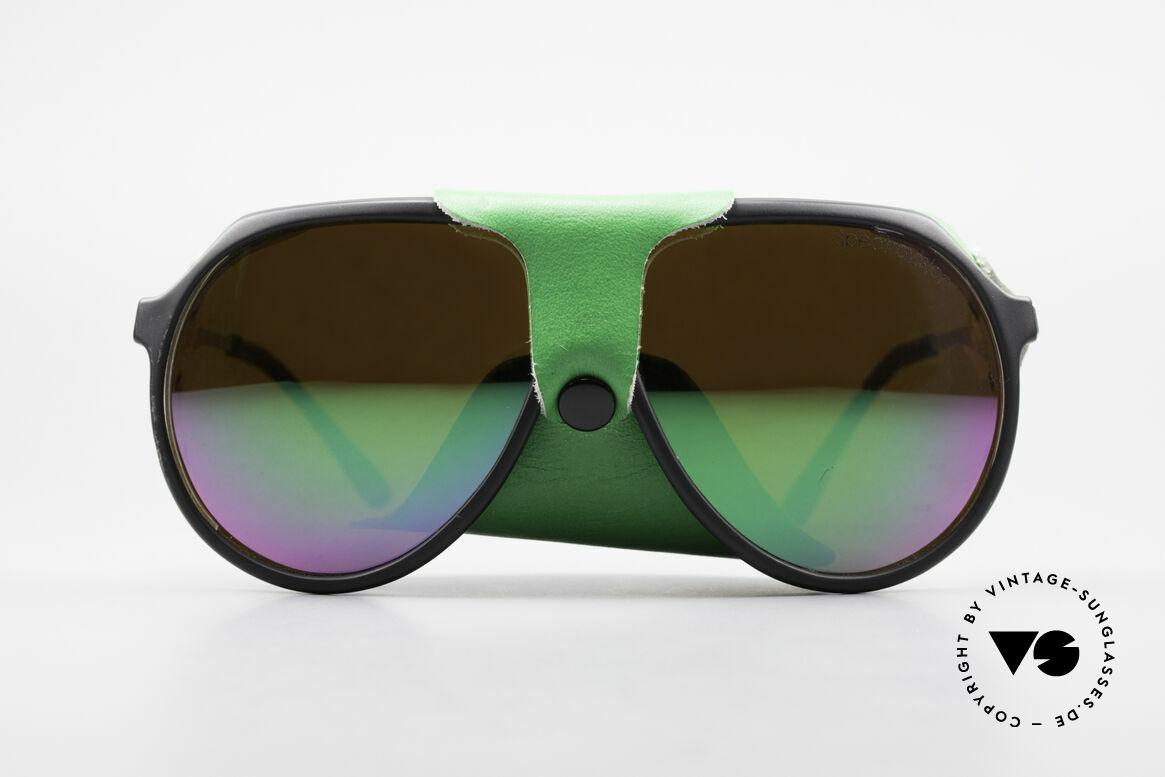 Alpina Profi Sports Glacier Sunglasses, vintage Alpina sports and glacier sunglasses from 1985, Made for Men and Women