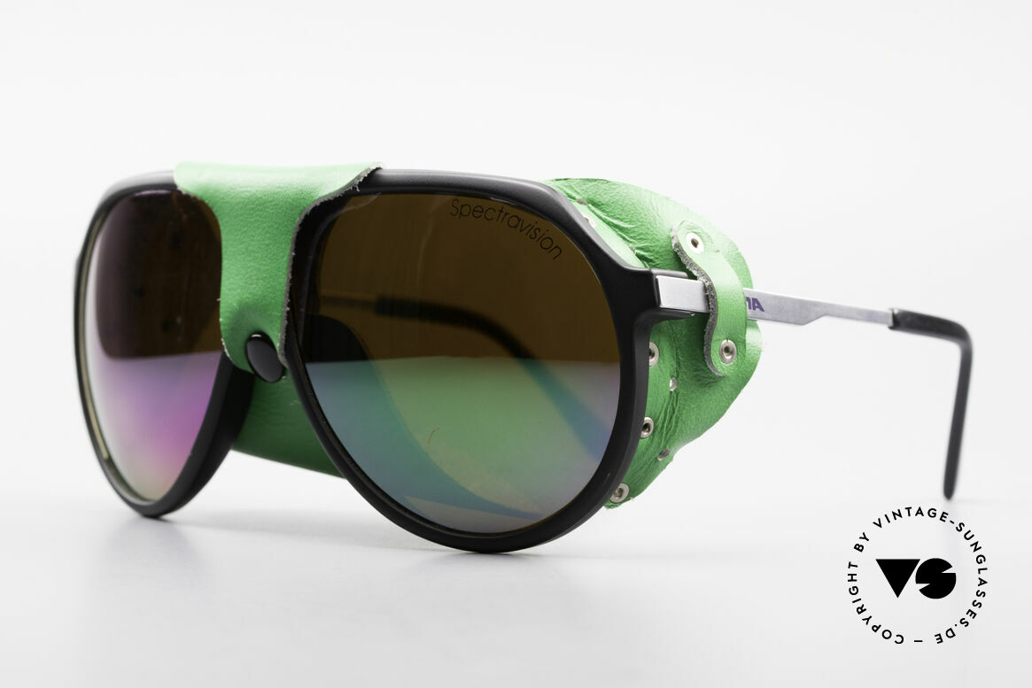 Alpina Profi Sports Glacier Sunglasses, SPECTRAVISION lenses for extreme weather-conditions, Made for Men and Women