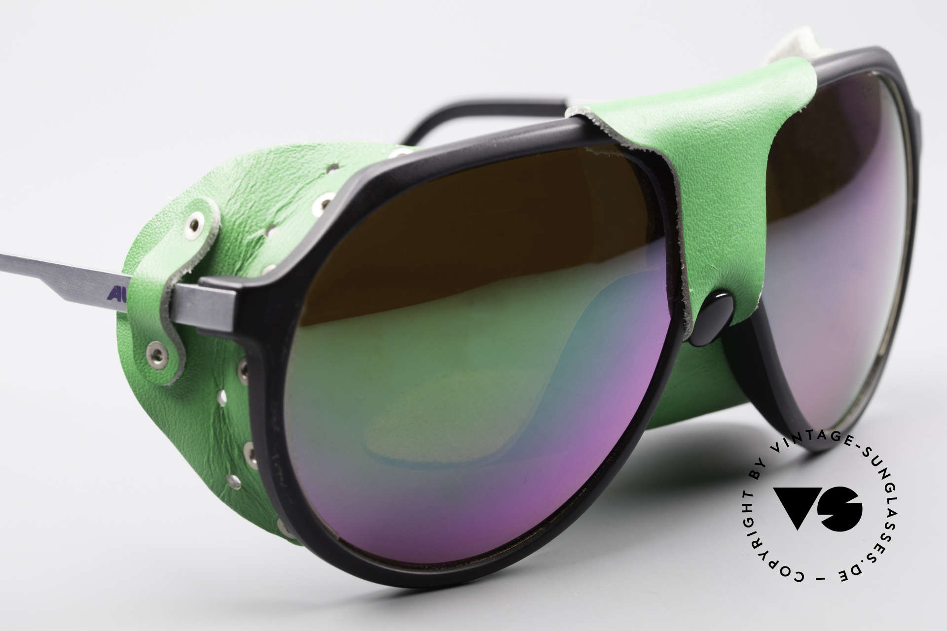 Alpina Profi Sports Glacier Sunglasses, unworn, NOS (like all our vintage Alpina sports shades), Made for Men and Women