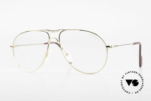 Alpina M1F751 Classic Aviator Eyeglasses Details