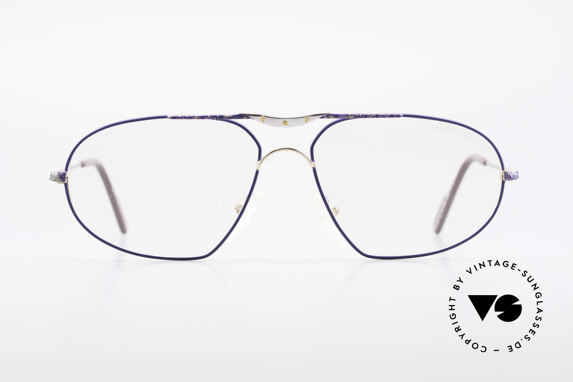 Alpina M1F755 Old Classic Men's Eyeglasses, timeless design & TOP-quality (made in GERMANY), Made for Men