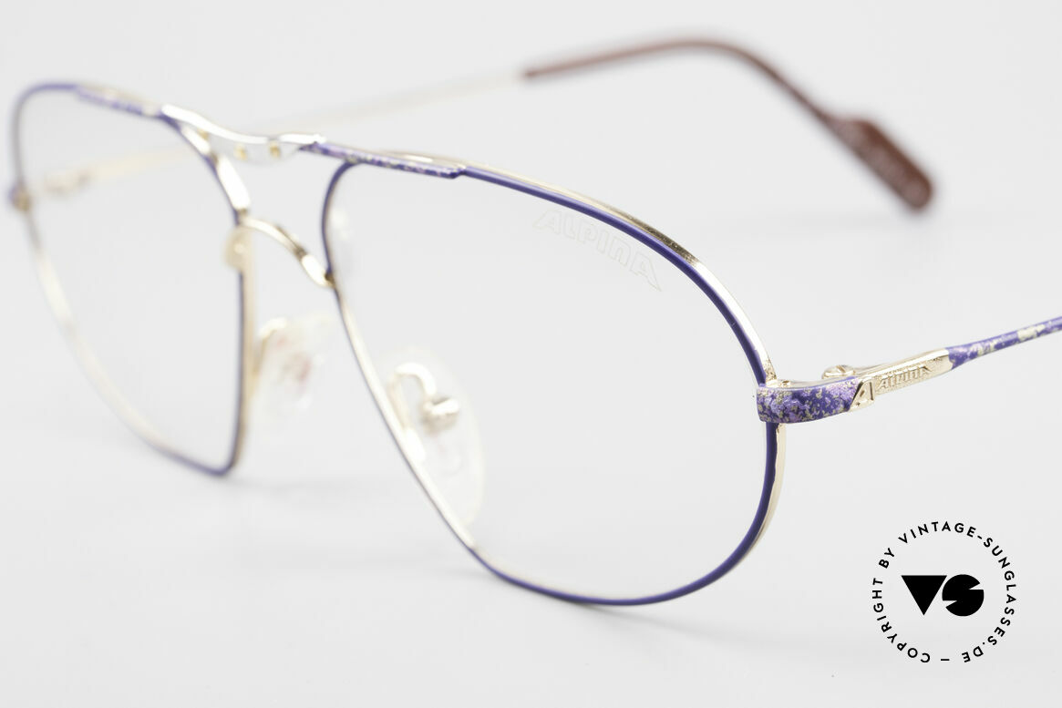 Alpina M1F755 Old Classic Men's Eyeglasses, never worn (like all our rare vintage Alpina eyewear), Made for Men