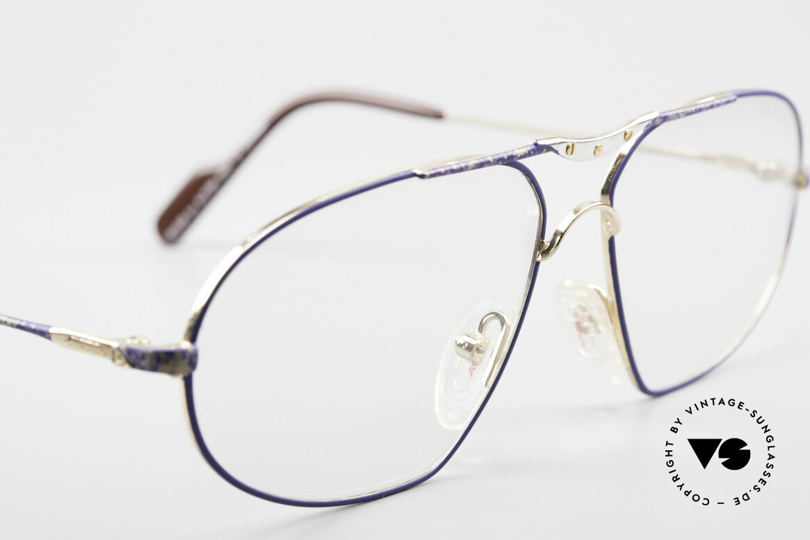 Alpina M1F755 Old Classic Men's Eyeglasses, NO RETRO eyeglasses, but a 25 years old ORIGINAL!, Made for Men