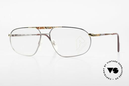 Alpina FM28 80's Designer Eyeglass-Frame Details