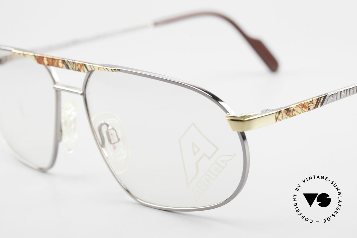 Alpina FM28 80's Designer Eyeglass-Frame, new old stock (like all our rare vintage ALPINAS), Made for Men