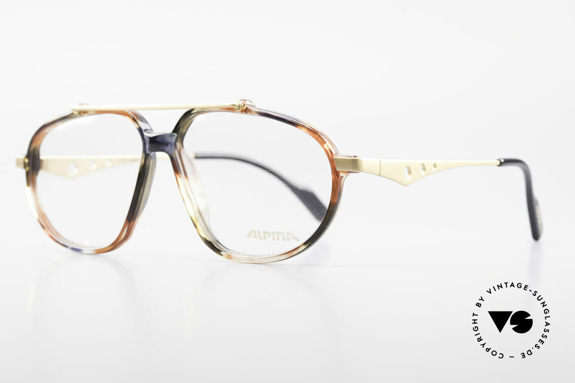 Alpina TFF461 90's Designer Eyeglasses Men, 1st class comfort and quality (made in Germany), Made for Men