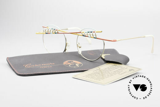 Taxi ST1 by Casanova The Jester Glasses Art Frame, but still functional, since frame fits optical (sun)lenses, Made for Men and Women
