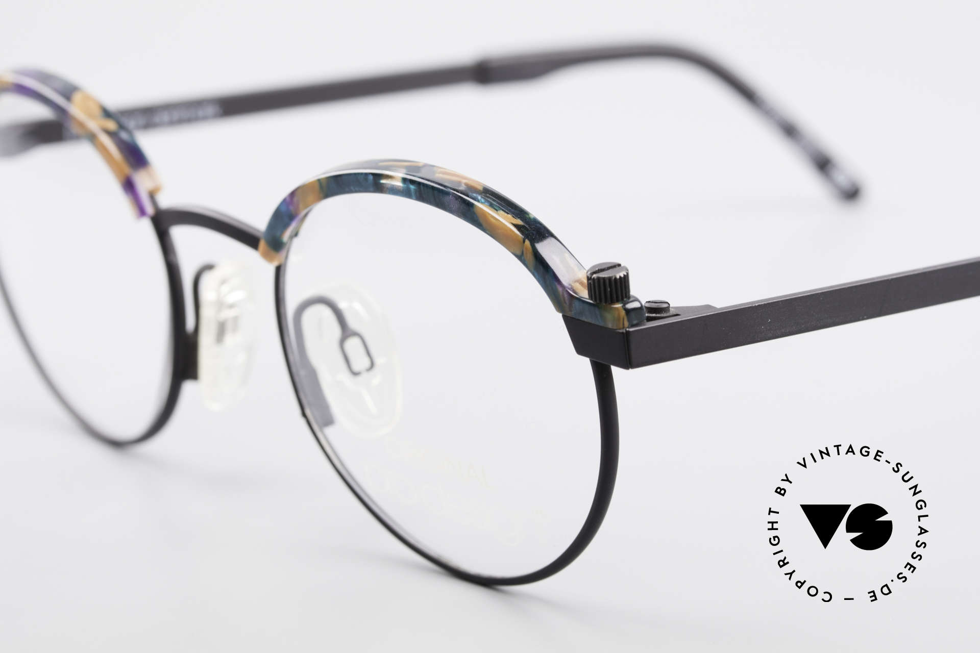 ProDesign Proswitch 4 Round Vintage Panto Glasses, timeless elegant combination of colors & pattern, Made for Men and Women