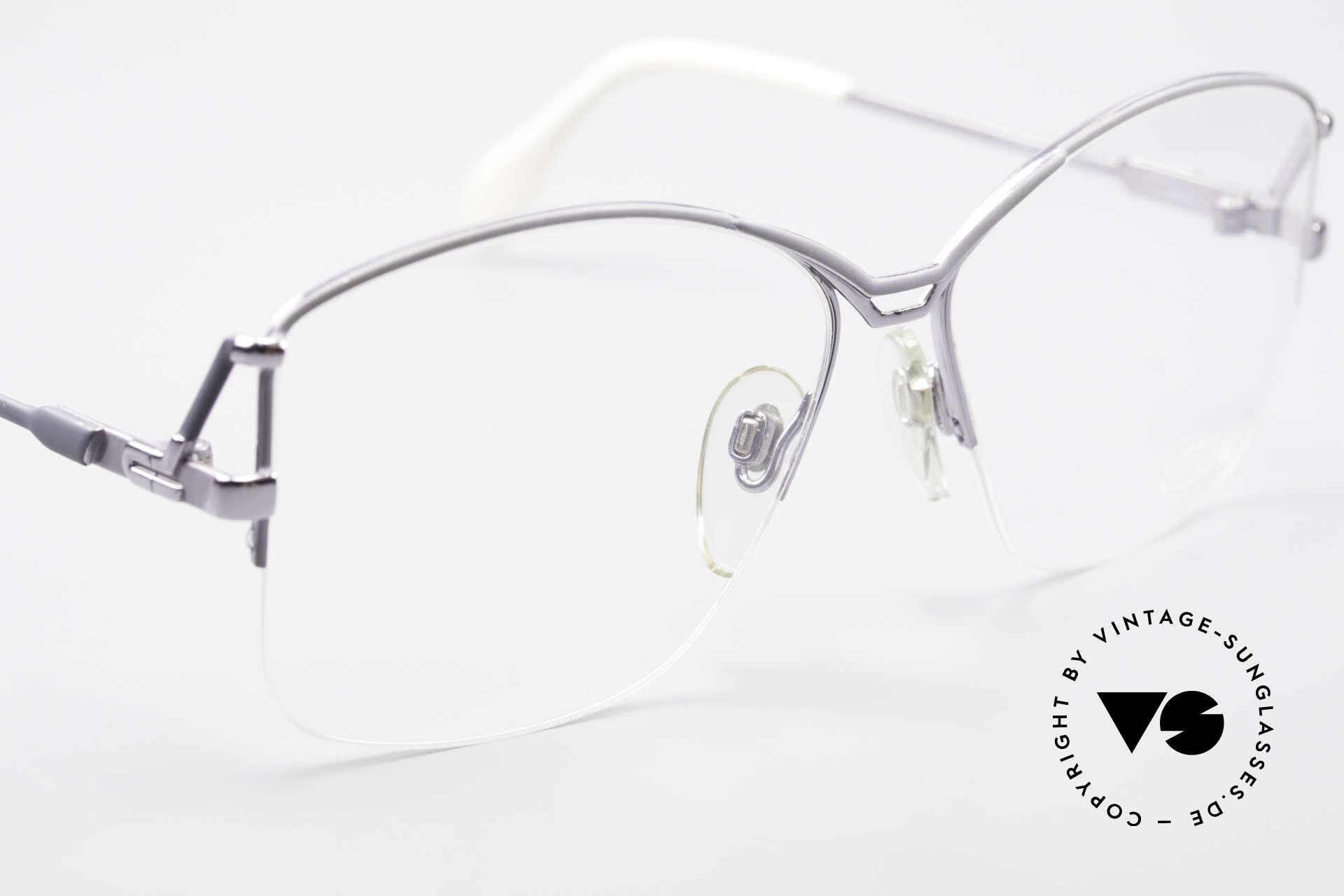Cazal 222 80's Original No Retro Glasses, NO RETRO GLASSES, but a 35 years old ORIGINAL, Made for Women