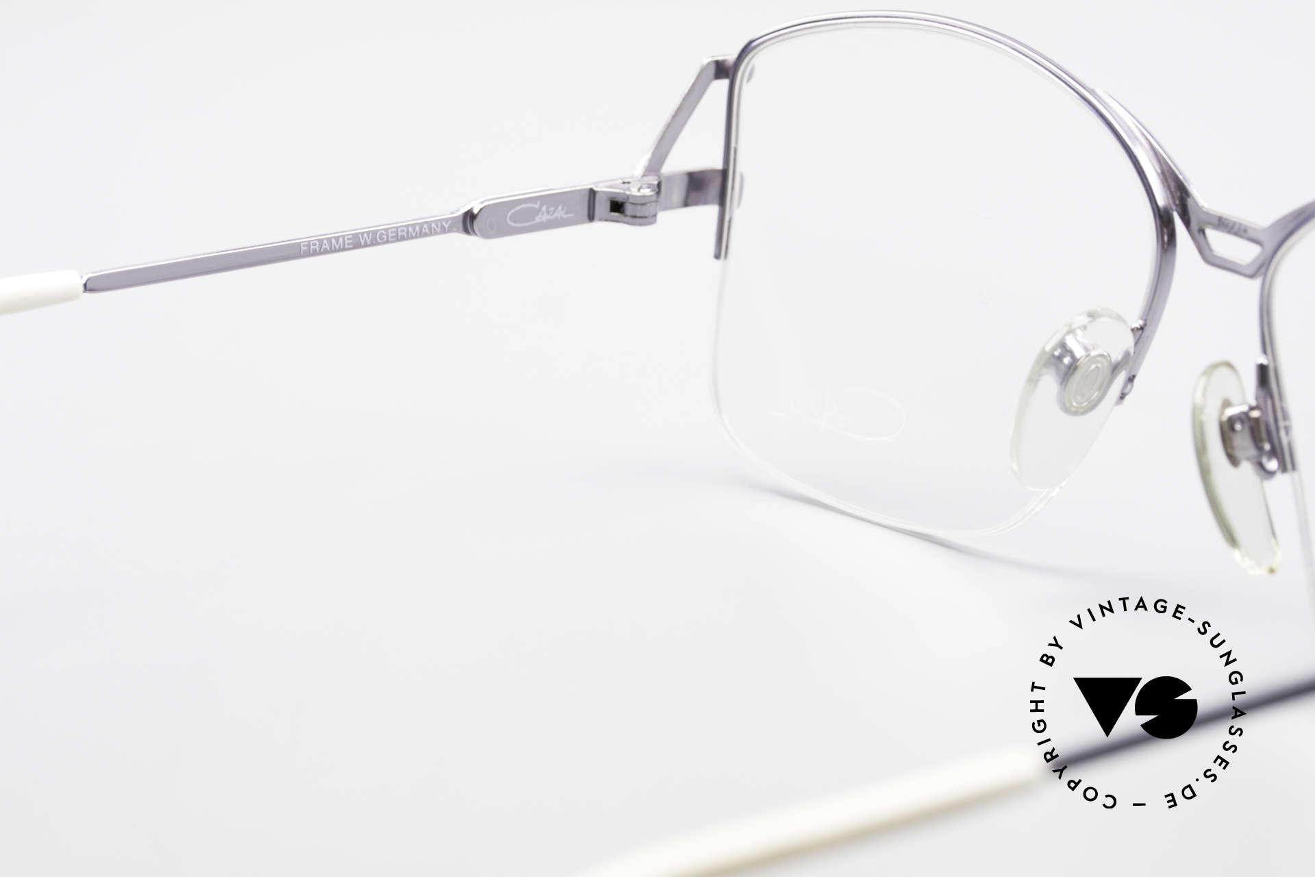 Cazal 222 80's Original No Retro Glasses, original DEMO lenses can be replaced optionally, Made for Women