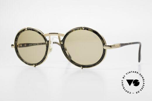 Cazal 644 Round 90's Cazal Sunglasses Details