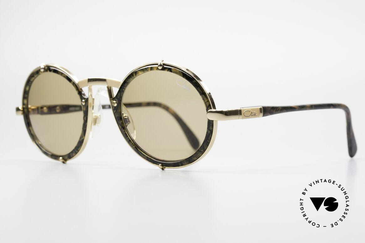 Cazal 644 Round 90's Cazal Sunglasses, NO retro sunglasses, but original from 1990/91, Made for Men and Women