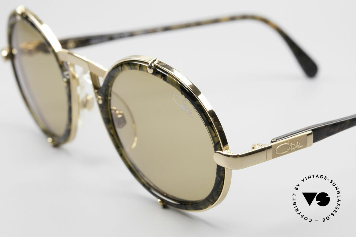 Cazal 644 Round 90's Cazal Sunglasses, unworn (like all our vintage eyewear by Cazal), Made for Men and Women