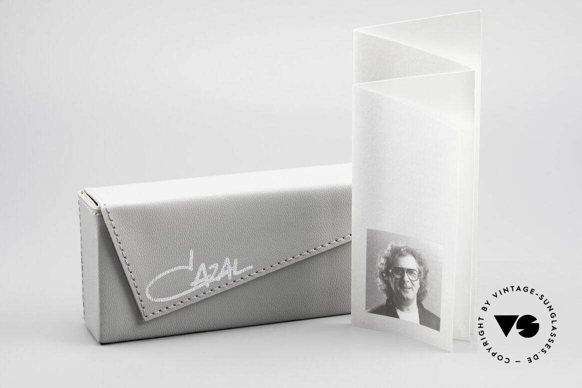 Cazal 644 Round 90's Cazal Sunglasses, Size: medium, Made for Men and Women