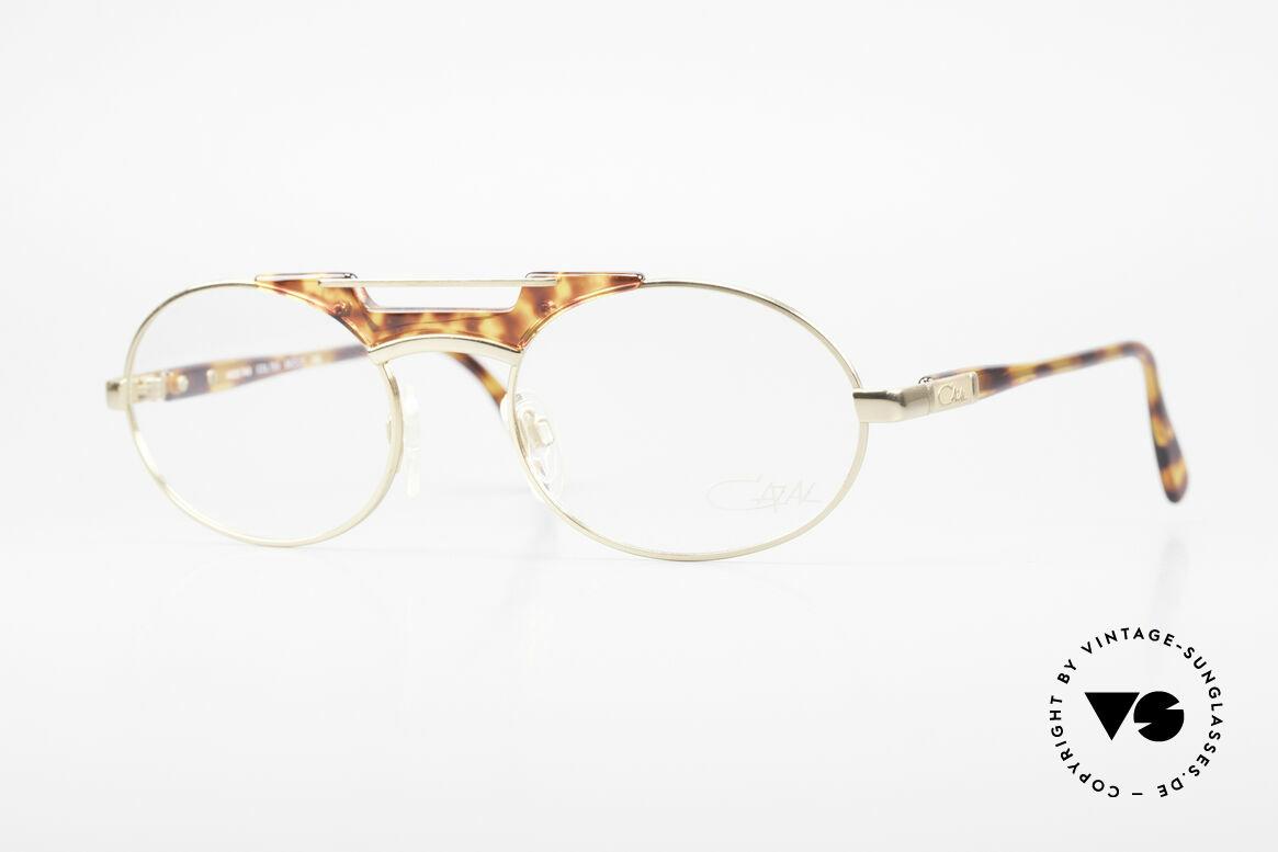 Cazal 749 Oval Designer Frame Unisex, elegant Cazal designer glasses of the early 90's, Made for Men and Women