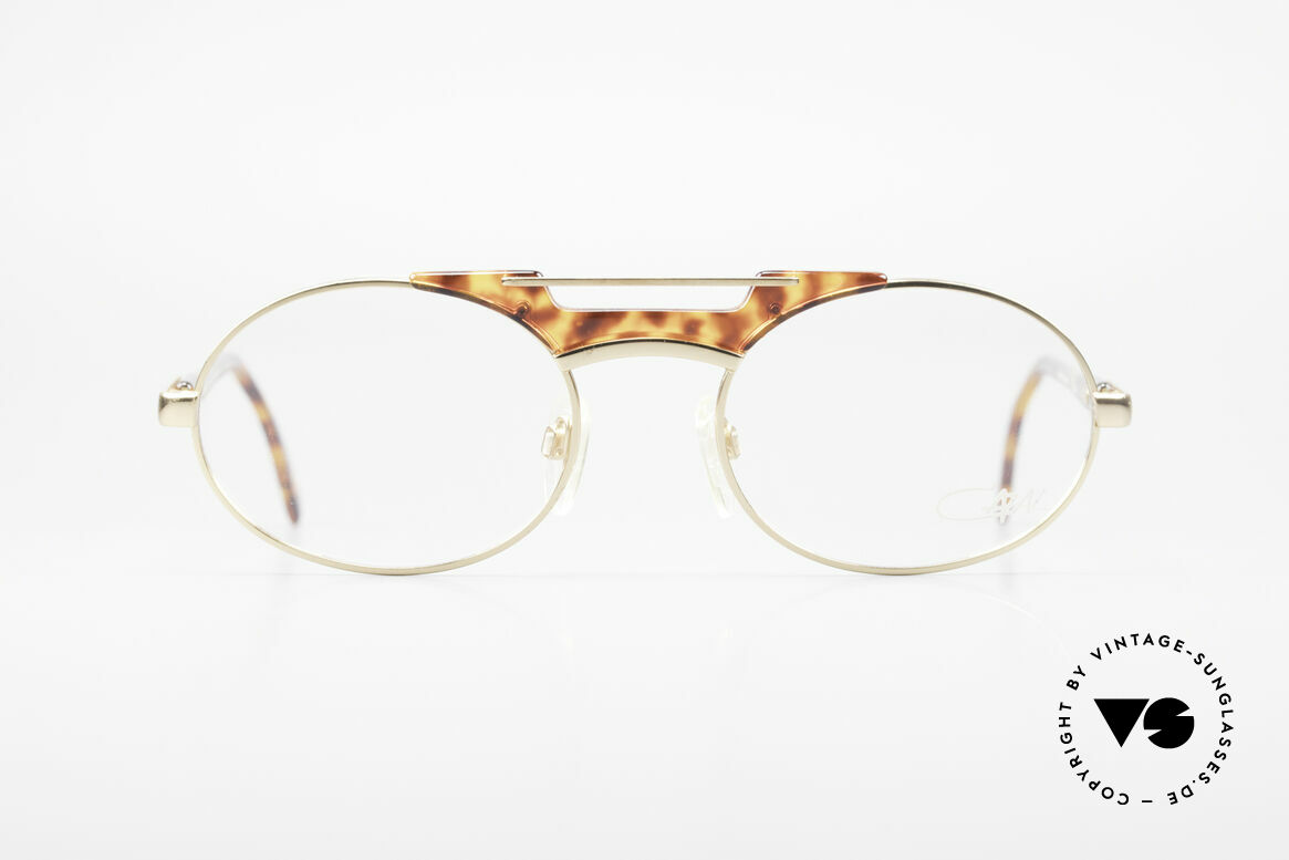 Cazal 749 Oval Designer Frame Unisex, 1st class craftsmanship & very pleasant to wear, Made for Men and Women