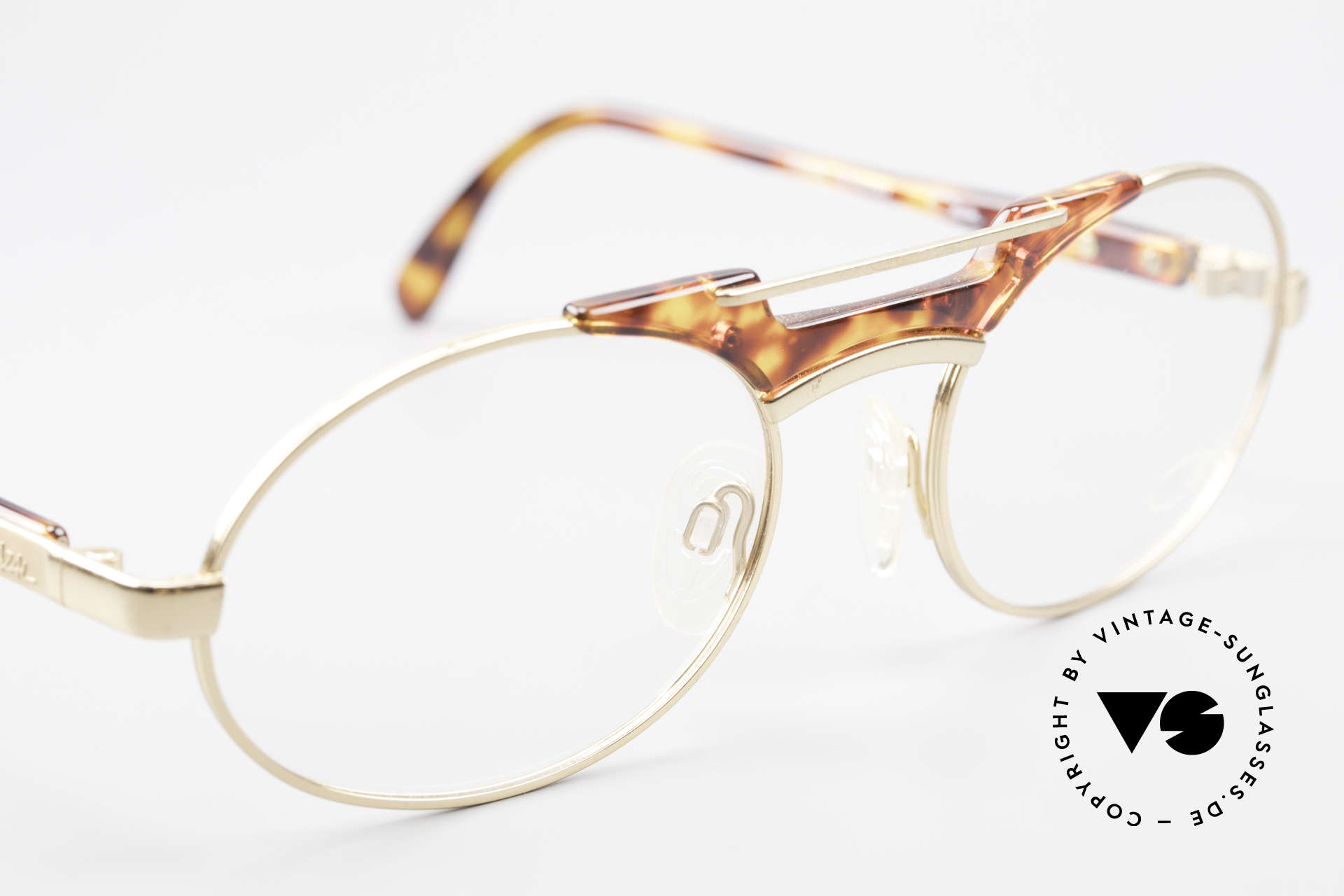 Cazal 749 Oval Designer Frame Unisex, NO RETRO specs, but a 25 years old ORIGINAL!, Made for Men and Women