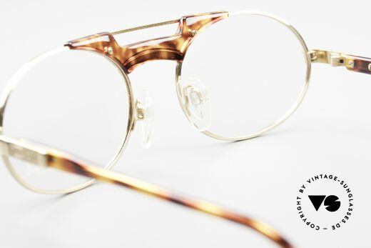 Cazal 749 Oval Designer Frame Unisex, Cazal DEMO lenses can be replaced optionally, Made for Men and Women