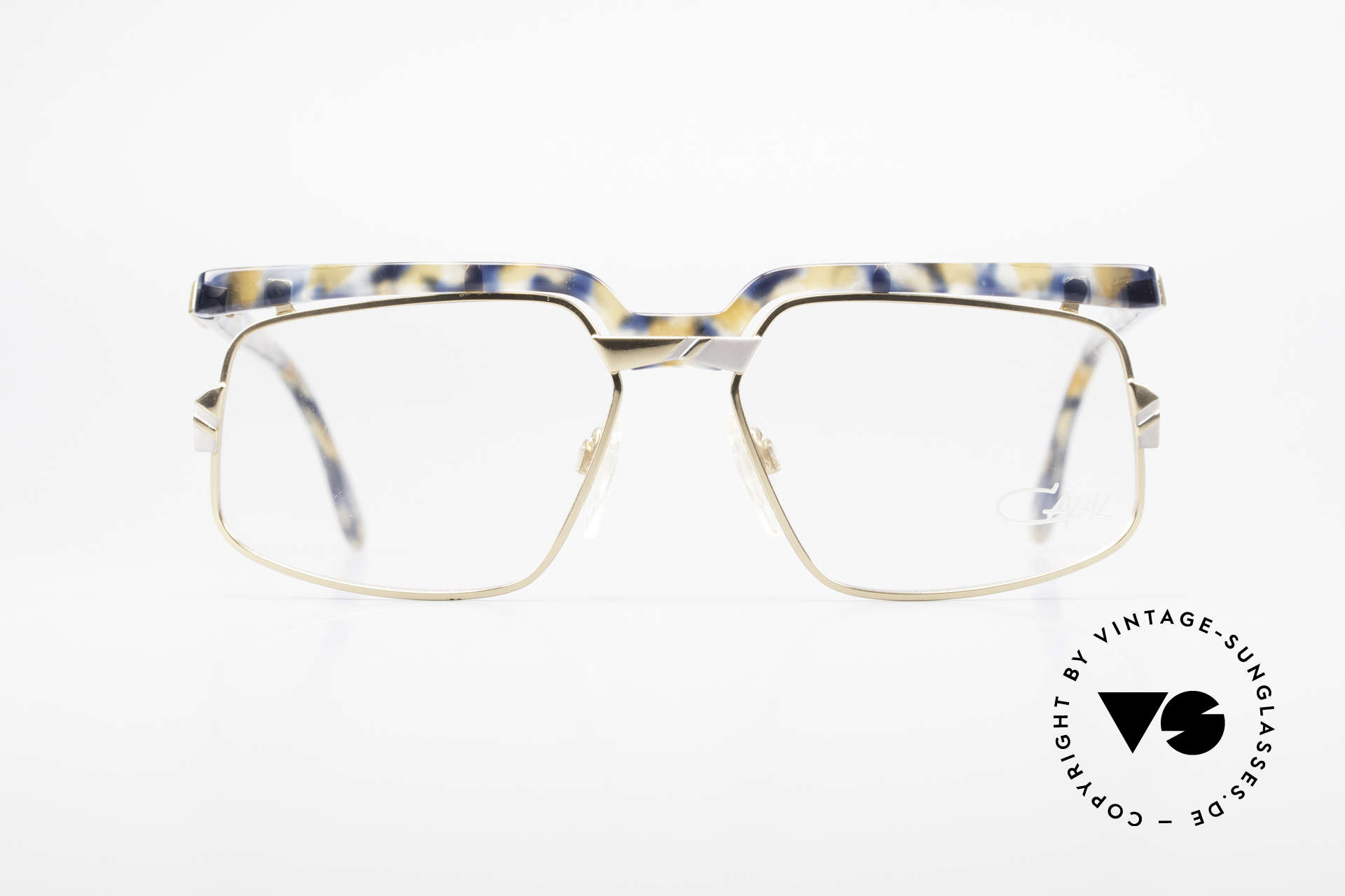 Cazal 246 Extraordinary Vintage Glasses, fancy frame elements with an unique pattern, Made for Men and Women