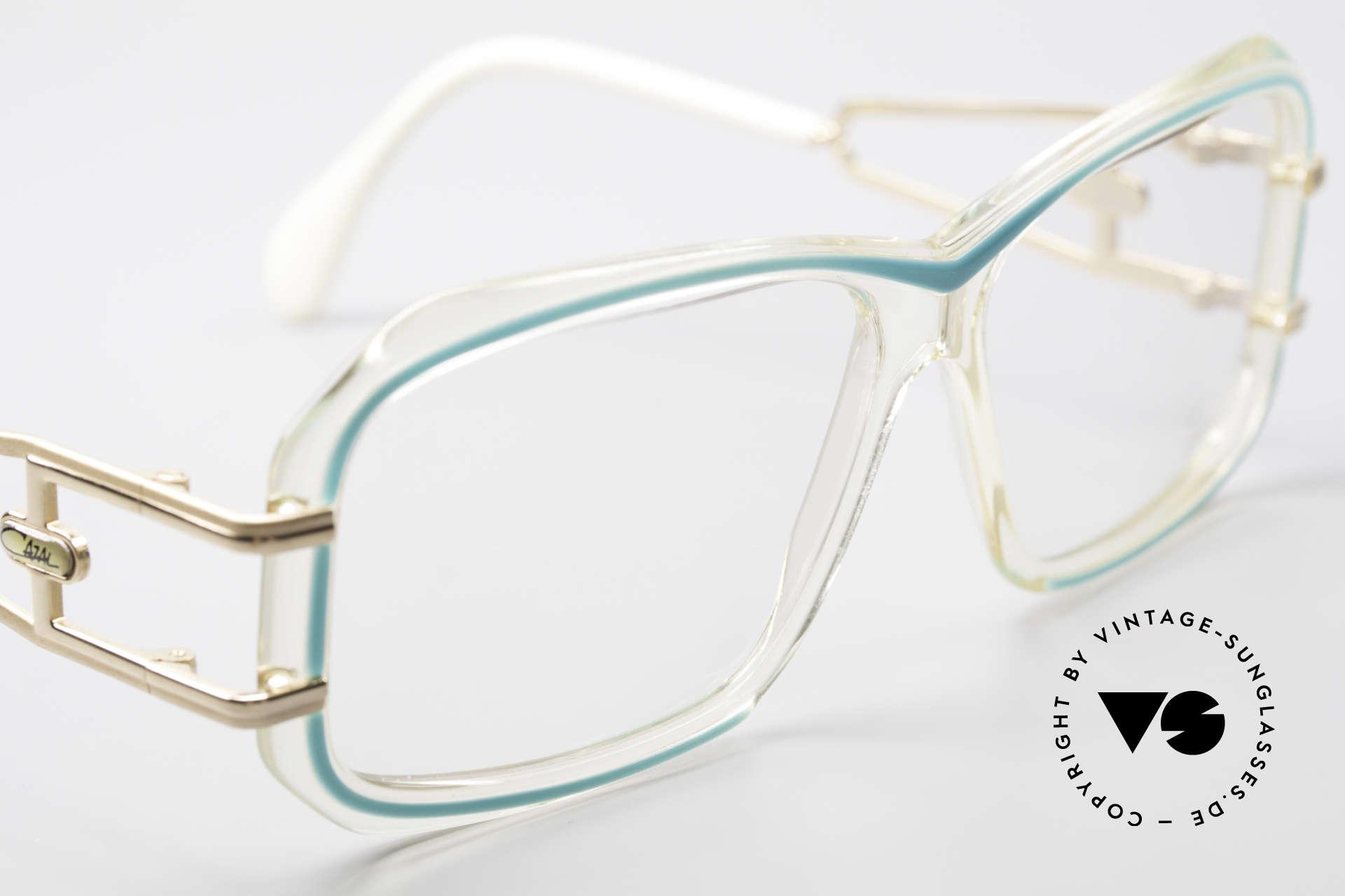 Cazal 173 Hip Hop Cazal 80's Glasses, NO RETRO fashion, but a true old unique RARITY, Made for Women