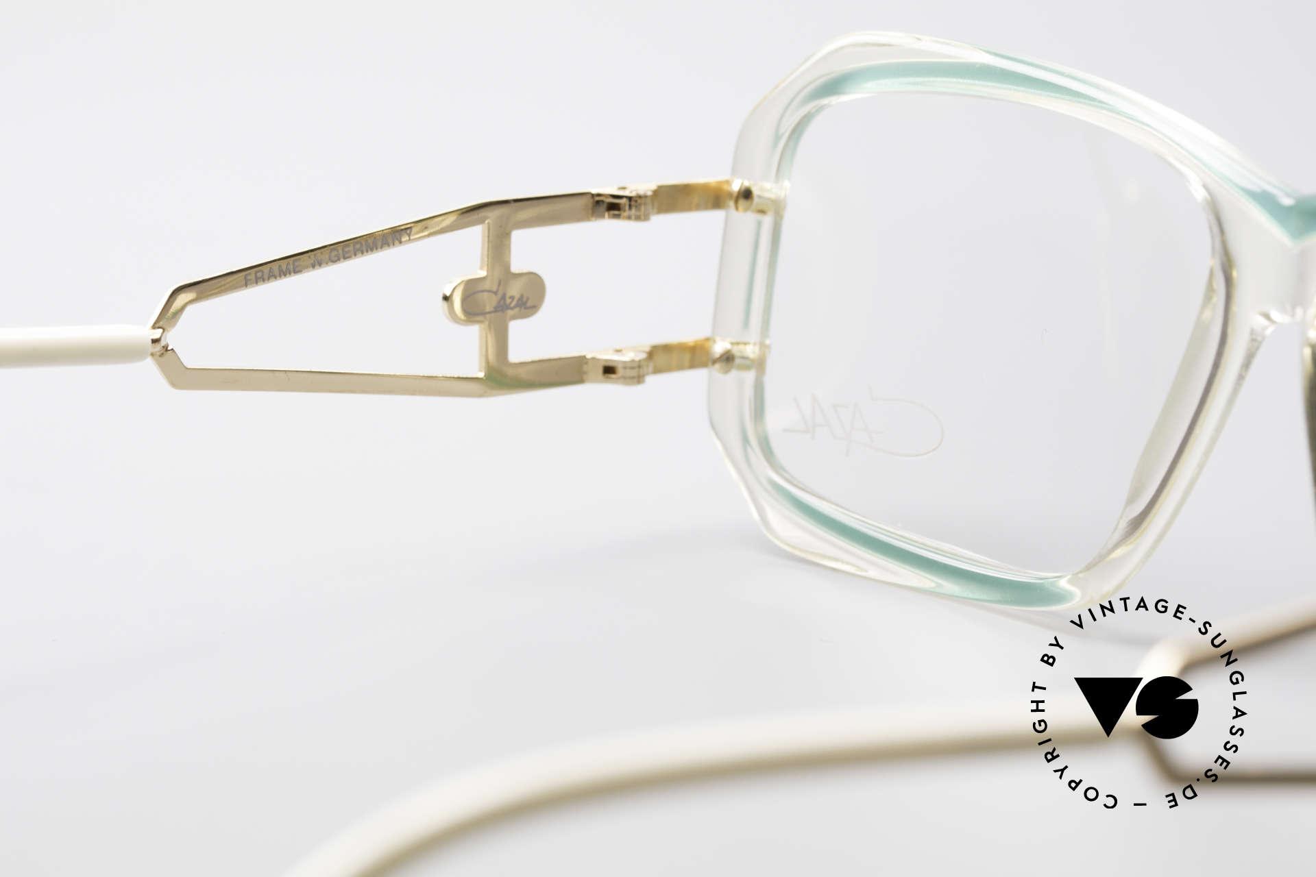 Cazal 173 Hip Hop Cazal 80's Glasses, original DEMO lenses can be replaced optionally, Made for Women