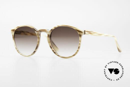 Hartmanns H42 Horn Johnny Depp Style Sunglasses Details