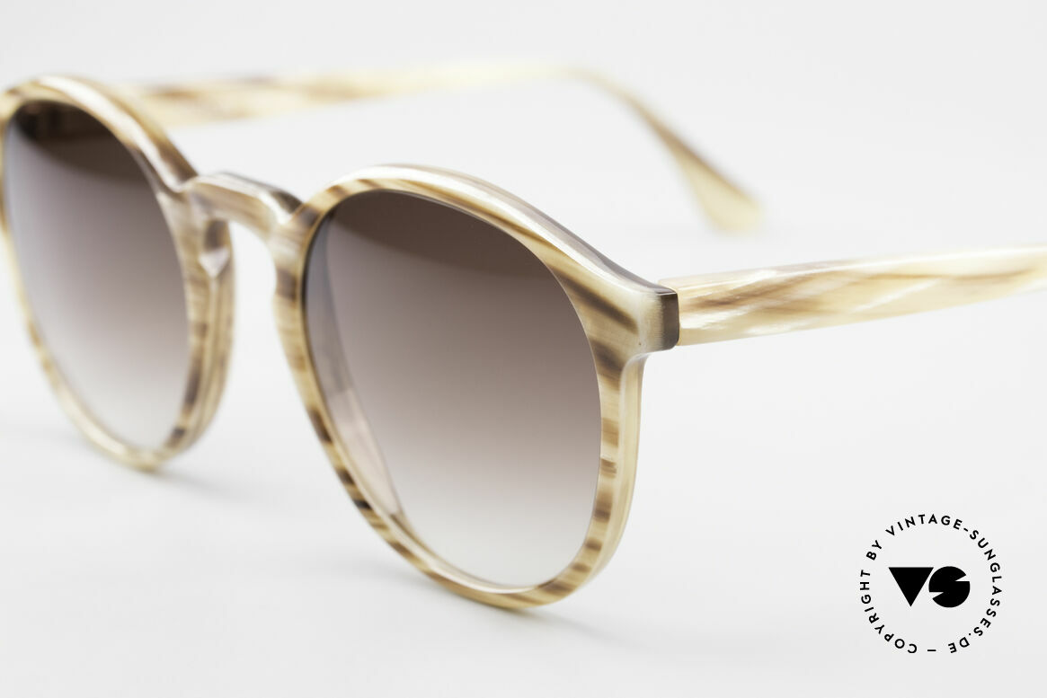 Hartmanns H42 Horn Johnny Depp Style Sunglasses, every model (made of horn) looks individual / unique, Made for Men
