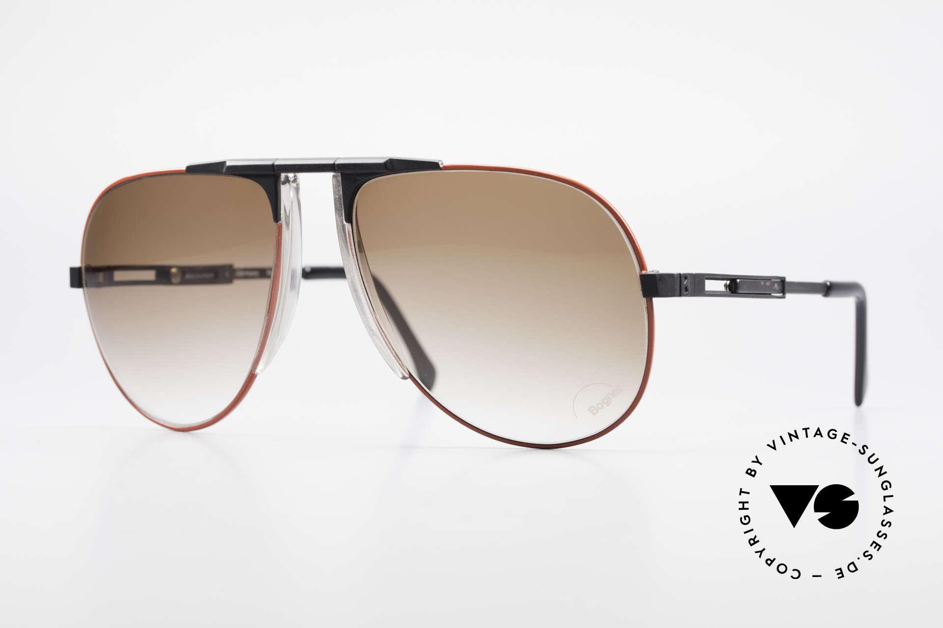 Willy Bogner 7011 Adjustable 80's Sunglasses, the bestseller sunglasses by skiing-ace Willy BOGNER, Made for Men