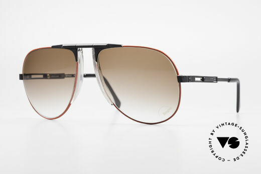 Willy Bogner 7011 Adjustable 80's Sunglasses Details