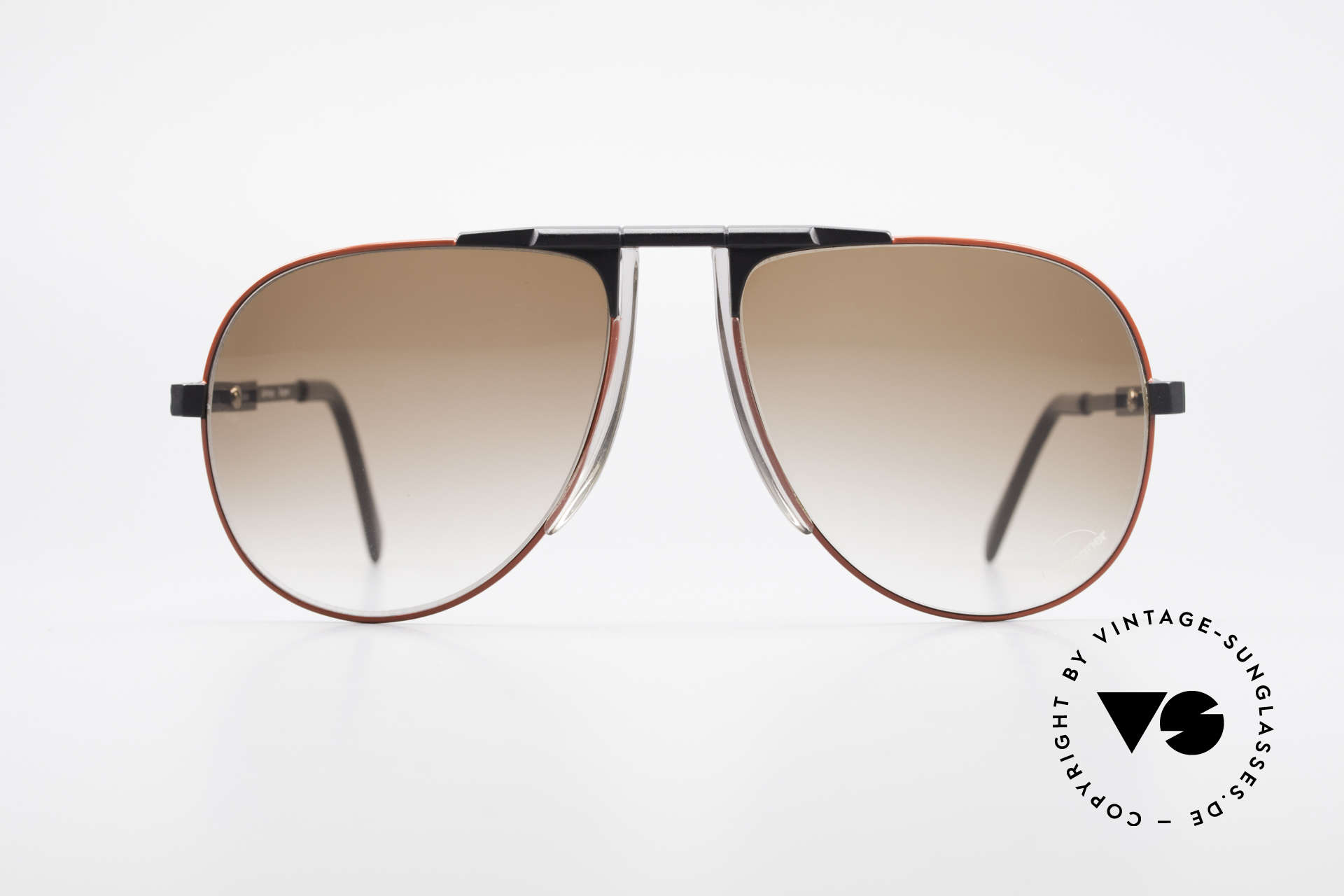 Willy Bogner 7011 Adjustable 80's Sunglasses, steplessely variable temples by Eschenbach; practical, Made for Men
