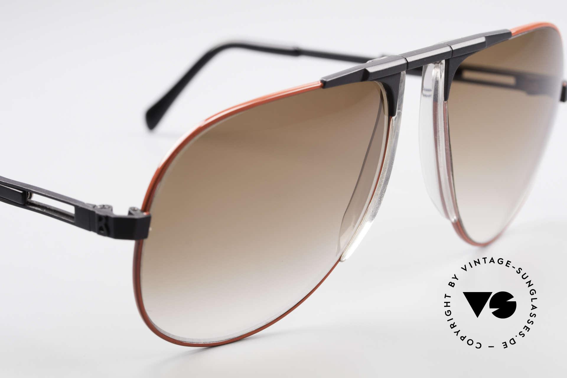 Willy Bogner 7011 Adjustable 80's Sunglasses, unworn (like all our vintage sunglasses by W. BOGNER), Made for Men