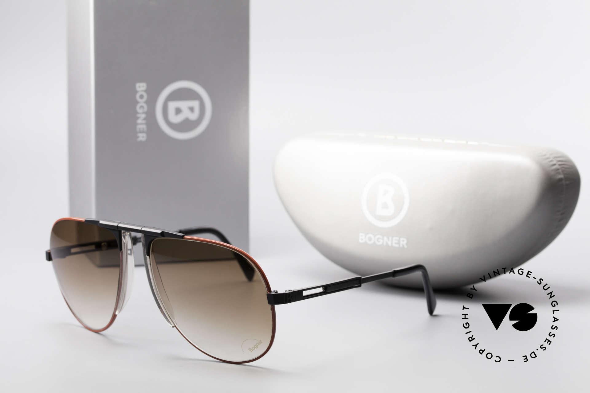 Willy Bogner 7011 Adjustable 80's Sunglasses, Size: large, Made for Men