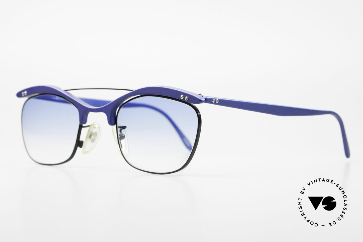 L.A. Eyeworks PLUTO III Vintage Frame No Retro Specs, spirited designer sunglasses for ladies and men (unisex), Made for Men and Women