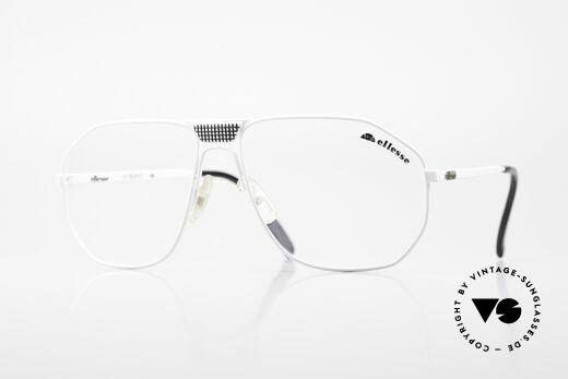 Ellesse Trophy 80's Tennis Sport Eyeglasses Details