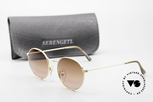 Serengeti Drivers 5346 Round Sunglasses For Driving, never worn (like all our rare round vintage sunglasses), Made for Men