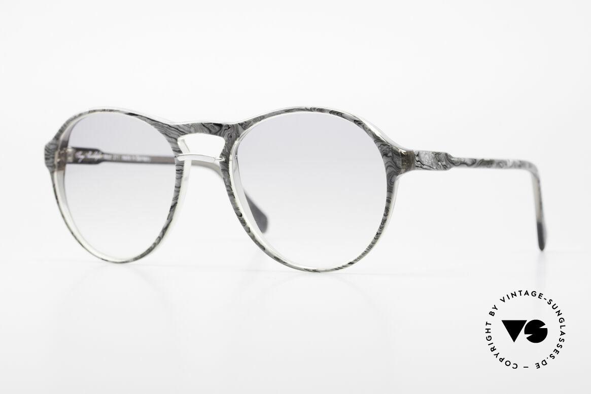 Serge Kirchhofer 211 Modified 70's Panto Shades, striking vintage men's sunglasses by Serge Kirchhofer, Made for Men
