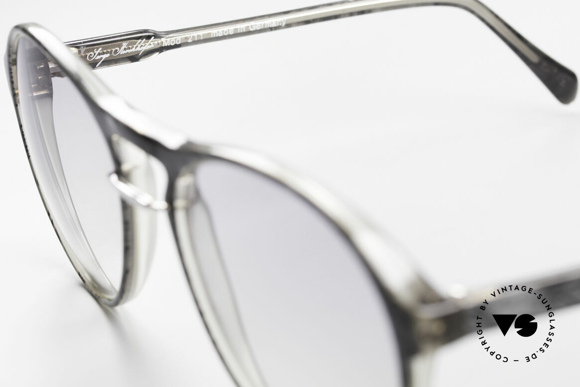 Serge Kirchhofer 211 Modified 70's Panto Shades, unworn (like all our authentic vintage designer shades), Made for Men