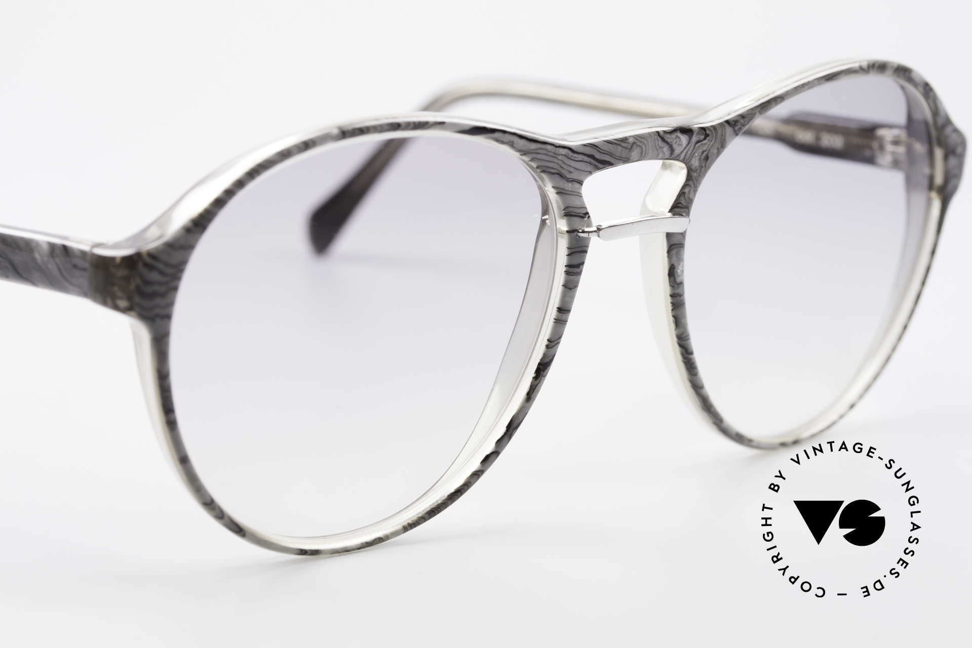 Serge Kirchhofer 211 Modified 70's Panto Shades, NO RETRO FRAME, but a genuine 40 years old unicum, Made for Men