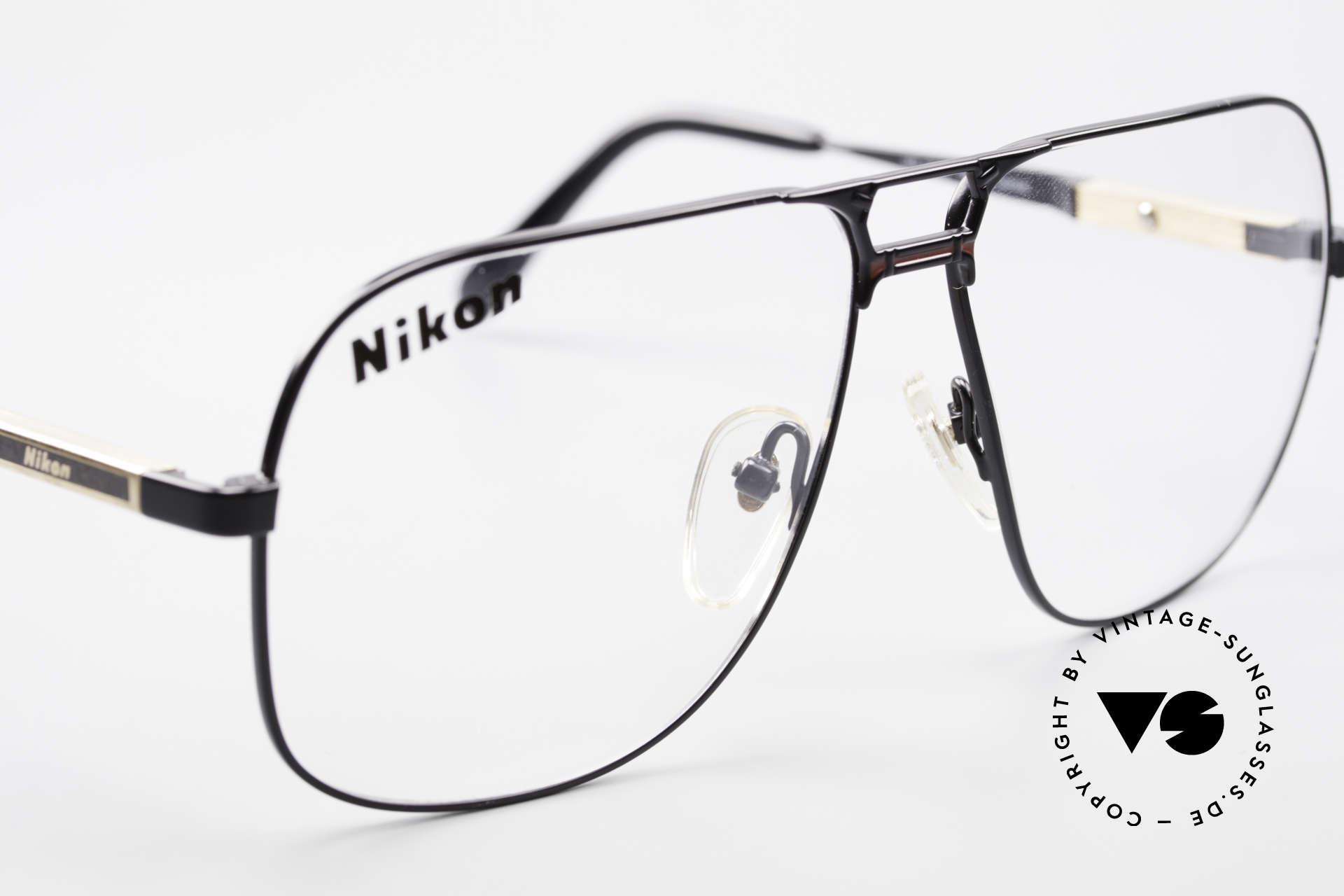 Nikon NK4520 80's XXL Vintage Men's Frame, NO RETRO eyewear, but a 30 years old genuine rarity, Made for Men
