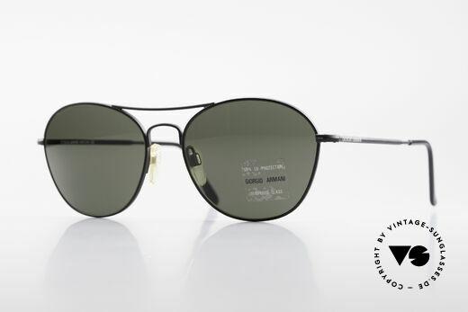 Giorgio Armani 646 Aviator Style Designer Shades Details