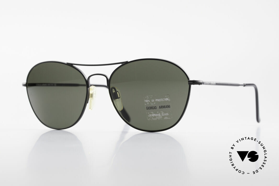 Giorgio Armani 646 Aviator Style Designer Shades, men's sunglasses by the fashion designer Armani, Made for Men