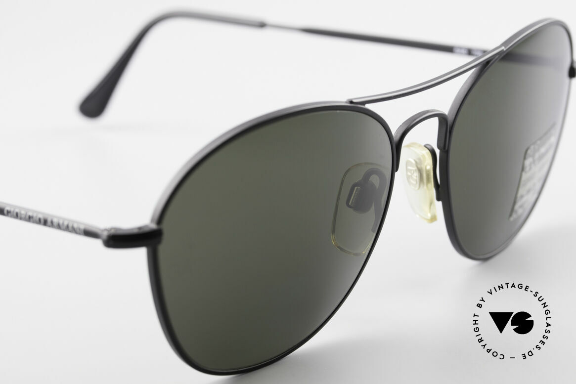 Giorgio Armani 646 Aviator Style Designer Shades, never worn (like all our 1990's designer classics), Made for Men